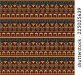 tribal art greece vintage... | Shutterstock .eps vector #225025639