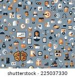 business. vector format  | Shutterstock .eps vector #225037330