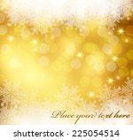 snowflakes background | Shutterstock .eps vector #225054514