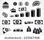 Money Symbols. Design Elements...