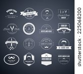 perfect set of barber and... | Shutterstock .eps vector #225068200