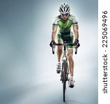 Sport. Athlete Cyclists In...