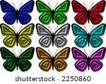 butterfly | Shutterstock . vector #2250860