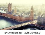 london   palace of westminster  ... | Shutterstock . vector #225089569
