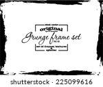 design template.abstract grunge ... | Shutterstock .eps vector #225099616