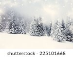 vintage photo of christmas... | Shutterstock . vector #225101668