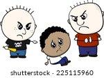 cartoon illustration of two... | Shutterstock .eps vector #225115960