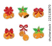 jingle bells.vector... | Shutterstock .eps vector #225130870