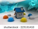 safety helmet use for... | Shutterstock . vector #225131410