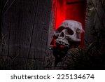 Scary Halloween Skull Bones...