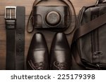 Brown Shoes  Belt  Bag And Fil...