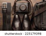 Brown Shoes  Belt  Bag And Fil...