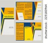vector brochure template design | Shutterstock .eps vector #225183964