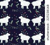 vector christmas pattern... | Shutterstock .eps vector #225238168