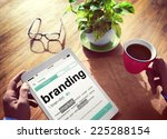 digital dictionary branding... | Shutterstock . vector #225288154