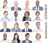 group of multiethnic diverse...   Shutterstock . vector #225300814