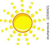 sun | Shutterstock .eps vector #22530421