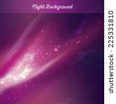 vector night sky background | Shutterstock .eps vector #225331810