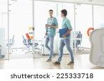 full length of businessmen... | Shutterstock . vector #225333718