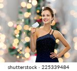 shopping  wealth  holidays and... | Shutterstock . vector #225339484
