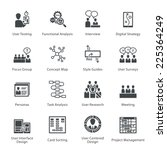 seo   usability icons set 1  ... | Shutterstock .eps vector #225364249