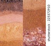 layer of soil underground   Shutterstock . vector #225372910