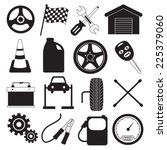 car service and tool icons | Shutterstock .eps vector #225379060