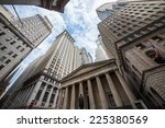 highrise buildings in wall... | Shutterstock . vector #225380569