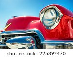 Headlight Of A Oldtimer In...