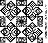 snowflake decorative  pattern | Shutterstock . vector #225407479