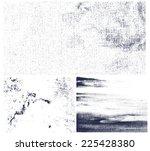 grunge grainy textures with... | Shutterstock .eps vector #225428380