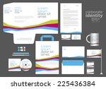 elegant minimal style corporate ... | Shutterstock .eps vector #225436384