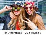 closeup fashion lifestyle... | Shutterstock . vector #225453658