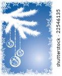 winter background | Shutterstock .eps vector #22546135