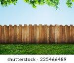 garden fence | Shutterstock . vector #225466489