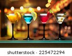 different cocktails or... | Shutterstock . vector #225472294