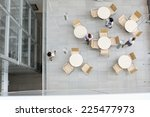 high angle view of... | Shutterstock . vector #225477973