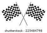 race flags | Shutterstock .eps vector #225484798