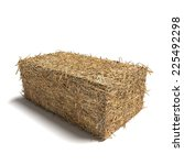 3d Illustration Of A Hay Bale...