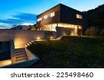 architecture modern design ... | Shutterstock . vector #225498460