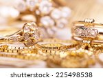 Gold Jewelry For Elegant Women.