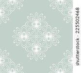oriental  pattern with damask ... | Shutterstock . vector #225502468