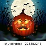 halloween vector illustration. | Shutterstock .eps vector #225583246