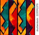 African Geometric Seamless...