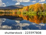 autumn reflections on price... | Shutterstock . vector #225597808