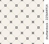 vector seamless pattern. modern ... | Shutterstock .eps vector #225644914