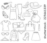 Fashion Hand Drawn Elements....