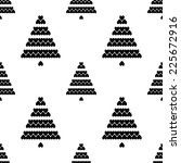 white seamless pattern with... | Shutterstock .eps vector #225672916