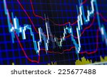 technical analysis of stock... | Shutterstock . vector #225677488