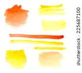 vector illustration of set of... | Shutterstock .eps vector #225687100